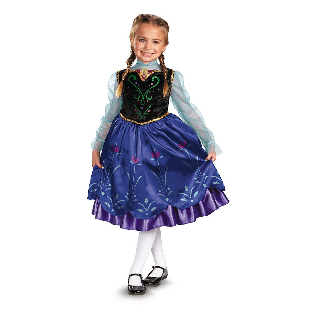 Anna frozen halloween cheap costume halloween