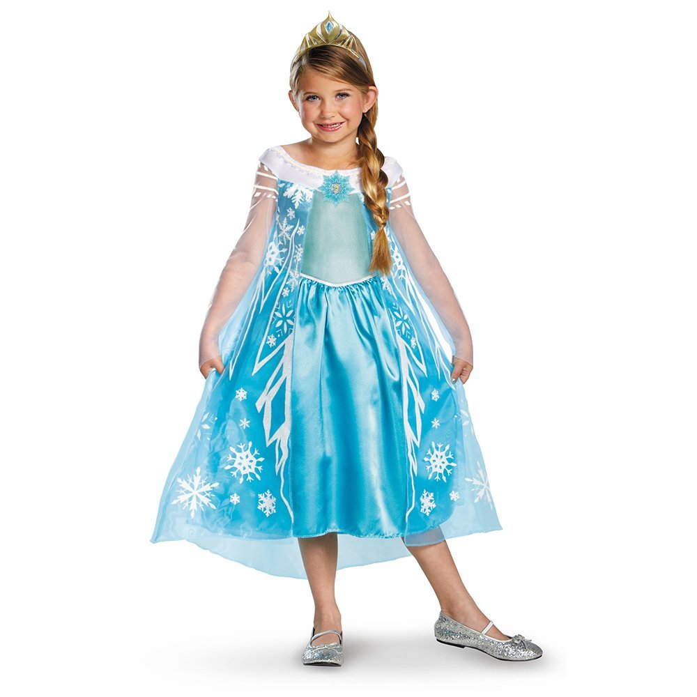 Elsa Frozen halloween cheap costume