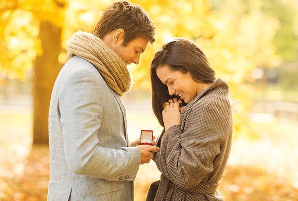 fall proposal engagement rings