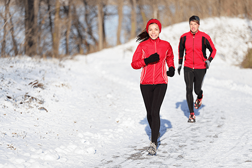what to wear when running in winter
