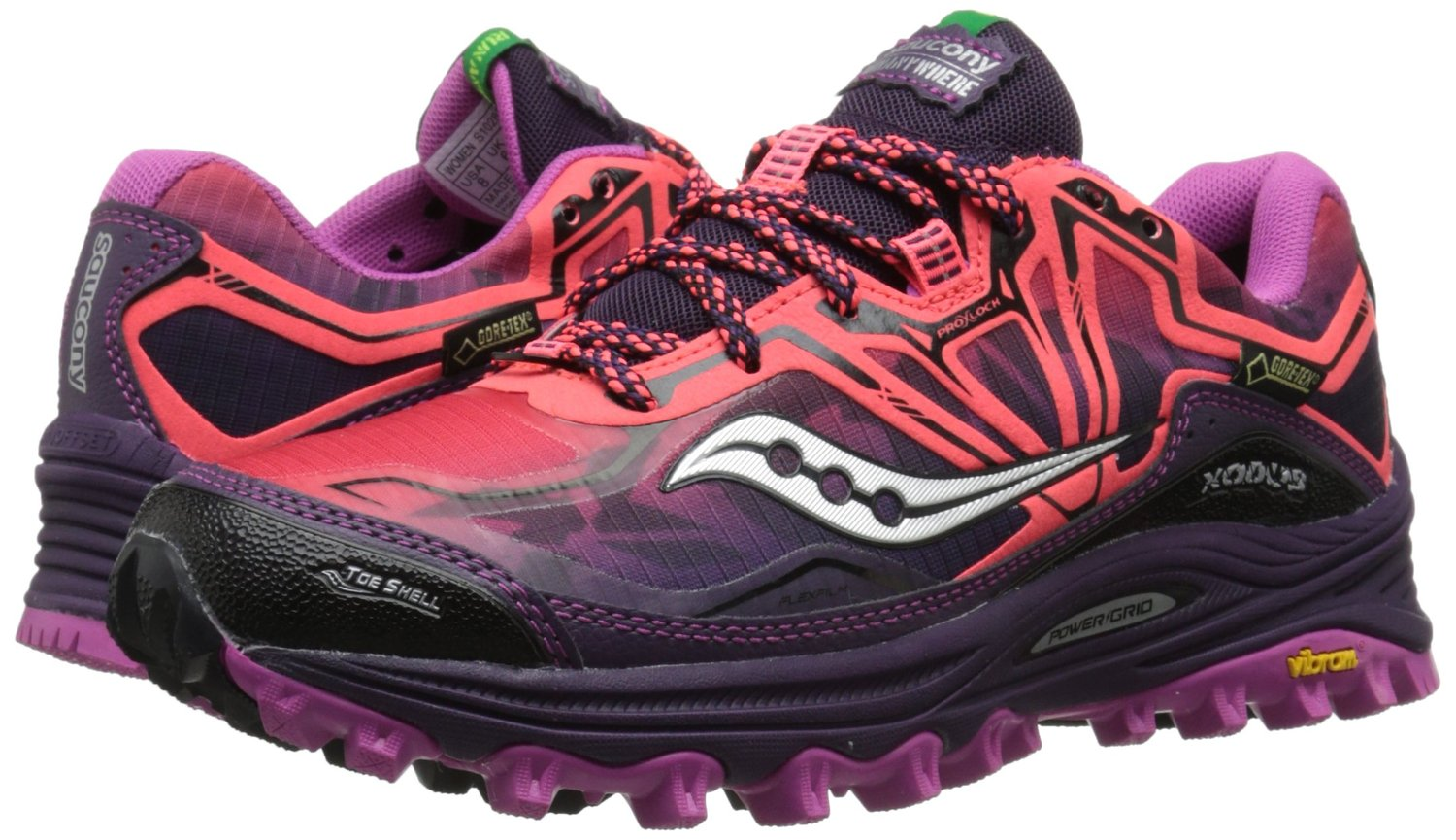 Saucony Women's Xodus 6.0 Gtx Trail Running Shoes