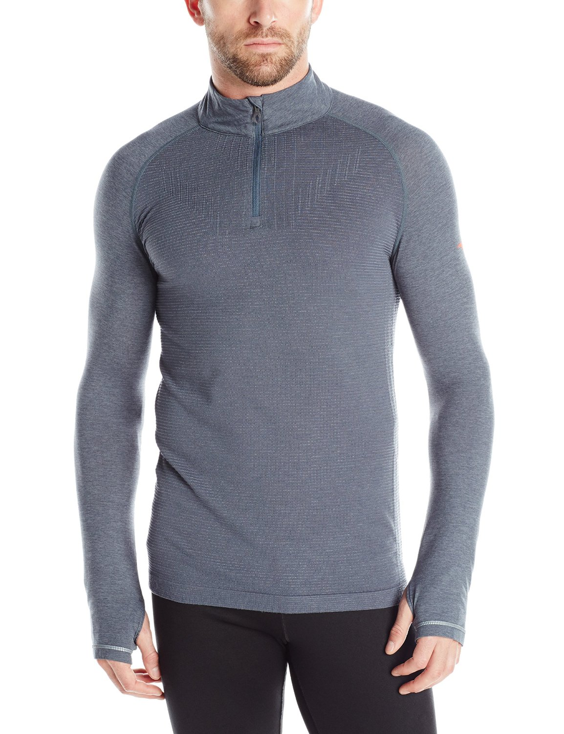 Mizuno Running Men's Breath Thermo Seamless Half Zip Top