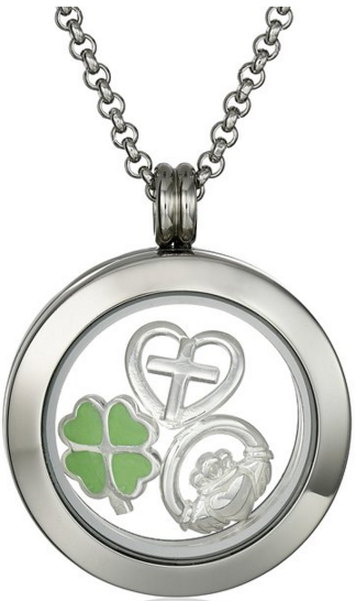 Charmed Lockets Irish Claddagh