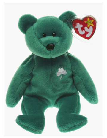 Erin the Irish St Patricks Teddy Bear