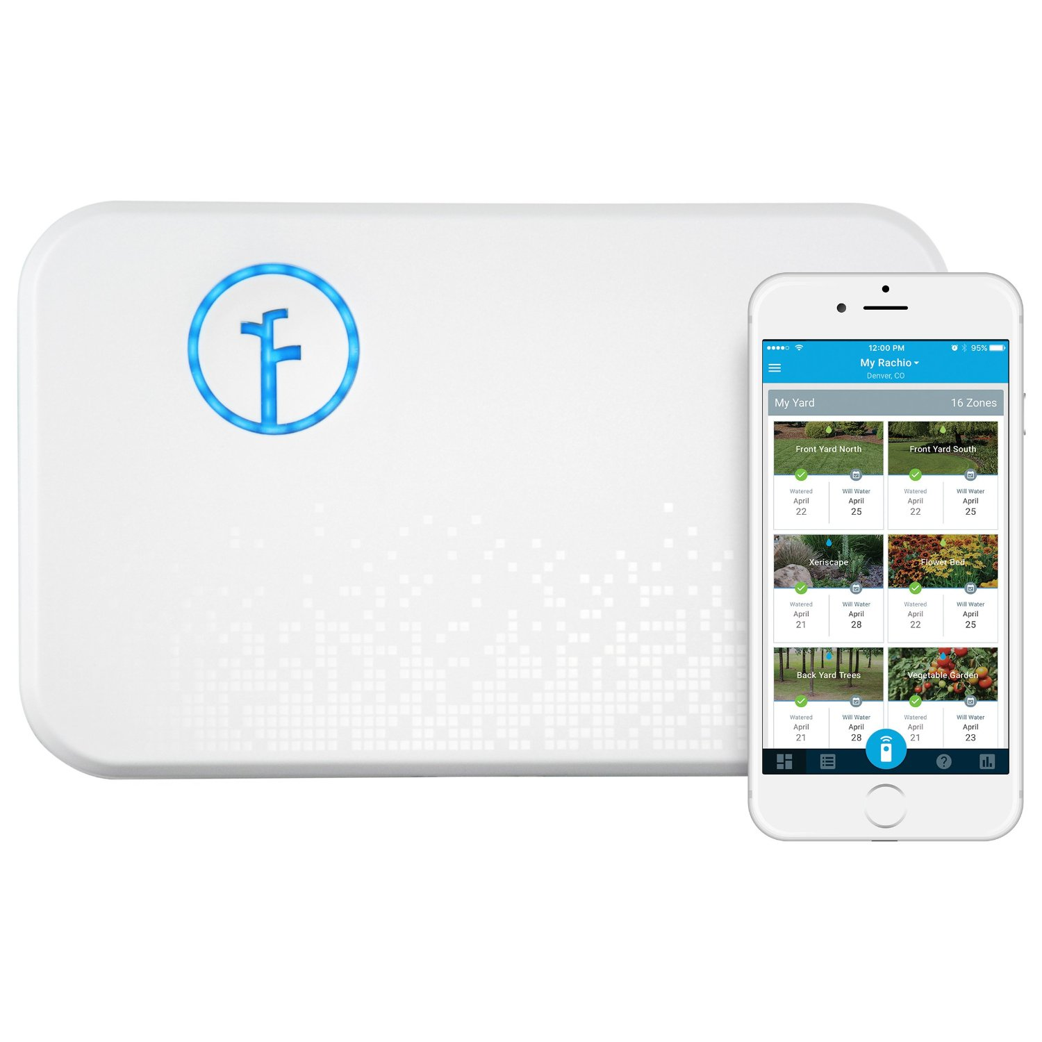Rachio Smart Sprinkler Controller, 2nd Generation