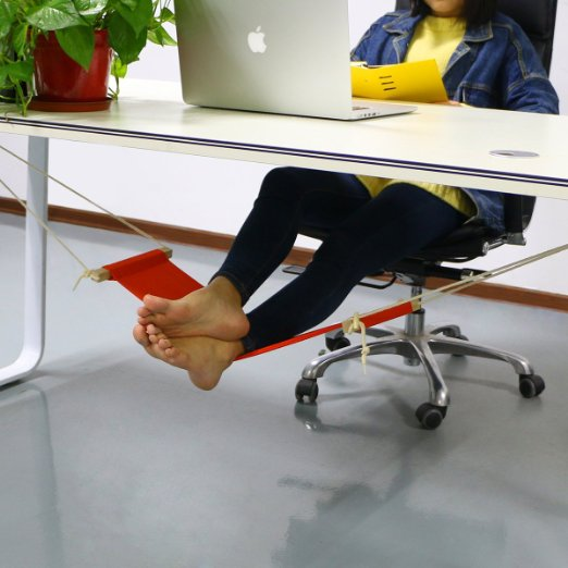 AccMart Adjustable Mini Foot Rest Stand