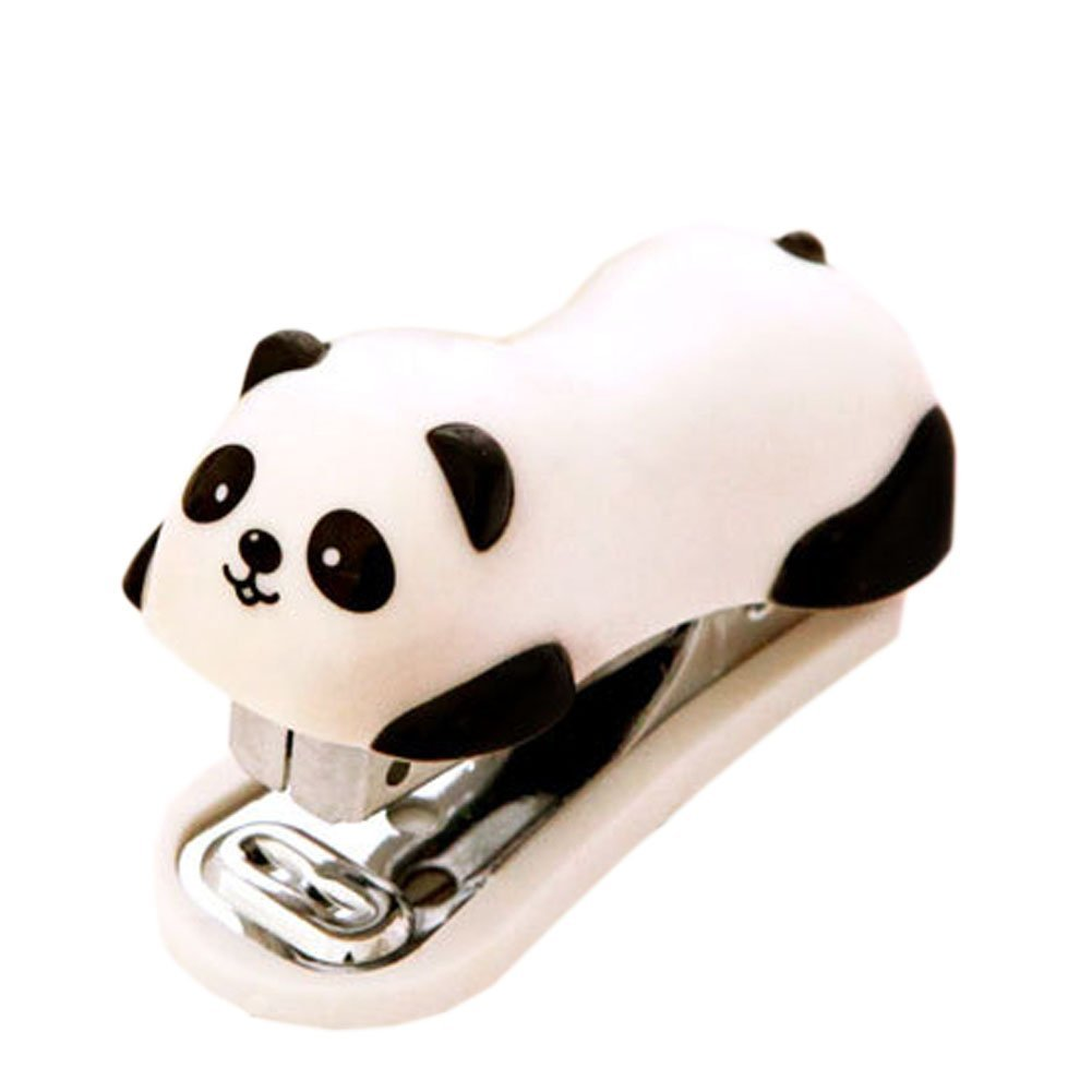 Cute Panda Mini Desktop Stapler