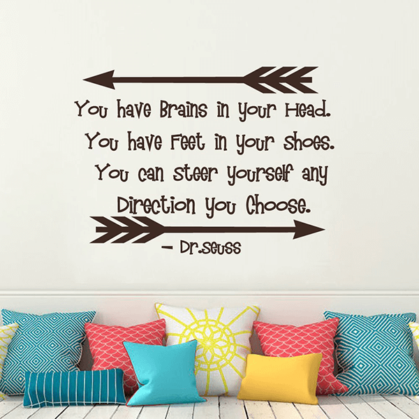 Dr Seuss Wall Decal Quotes