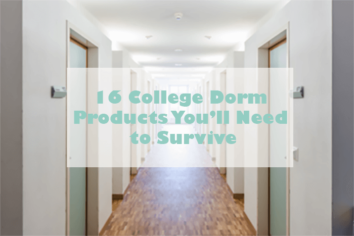 how to survive living in a college dorm