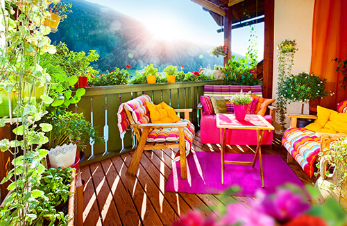 garden porch ideas